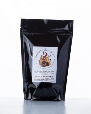 Arabica Brun-Noir-9330 de la Brûlerie de Café des Îles